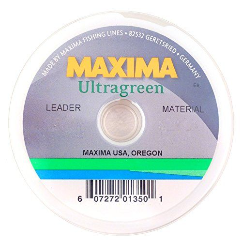 Maxima Ultragreen Fishing Line Leader Wheel http - line leader