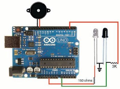 How To Use Ir Led And Photodiode With Arduino Arduino