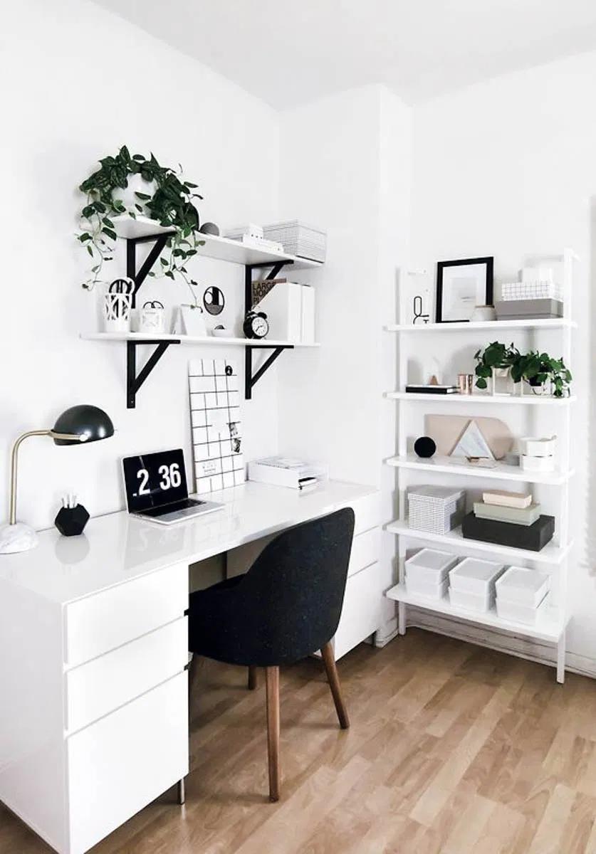 Creating the Perfect Bedroom Office Space - Anita Yokota