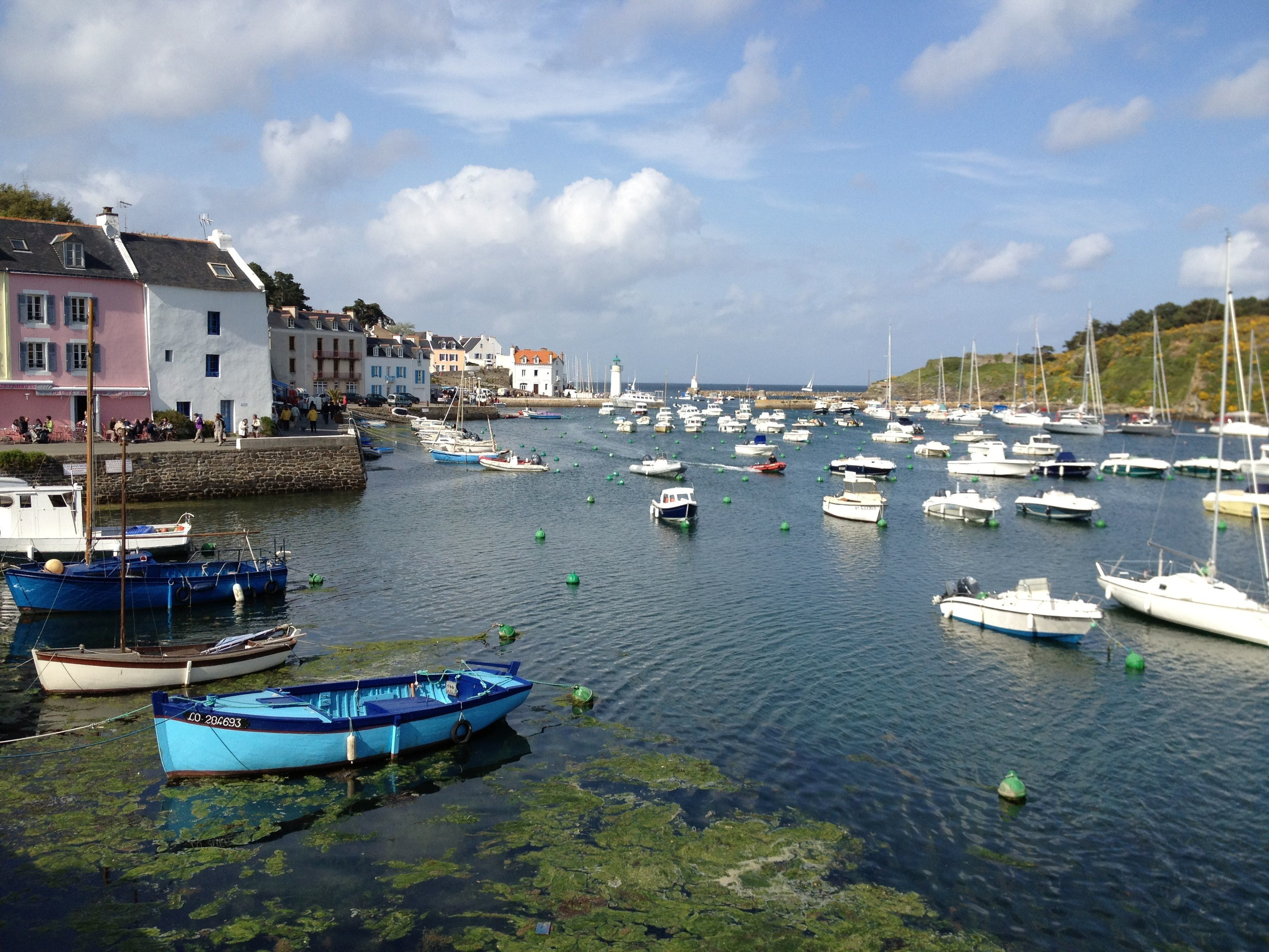 Sauzon Belle ile France Travel Pinterest