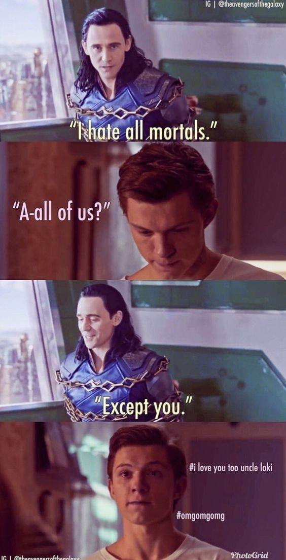Marvel/Avengers Shippings - Uncle LOKI~Superfamily #marveluniverse