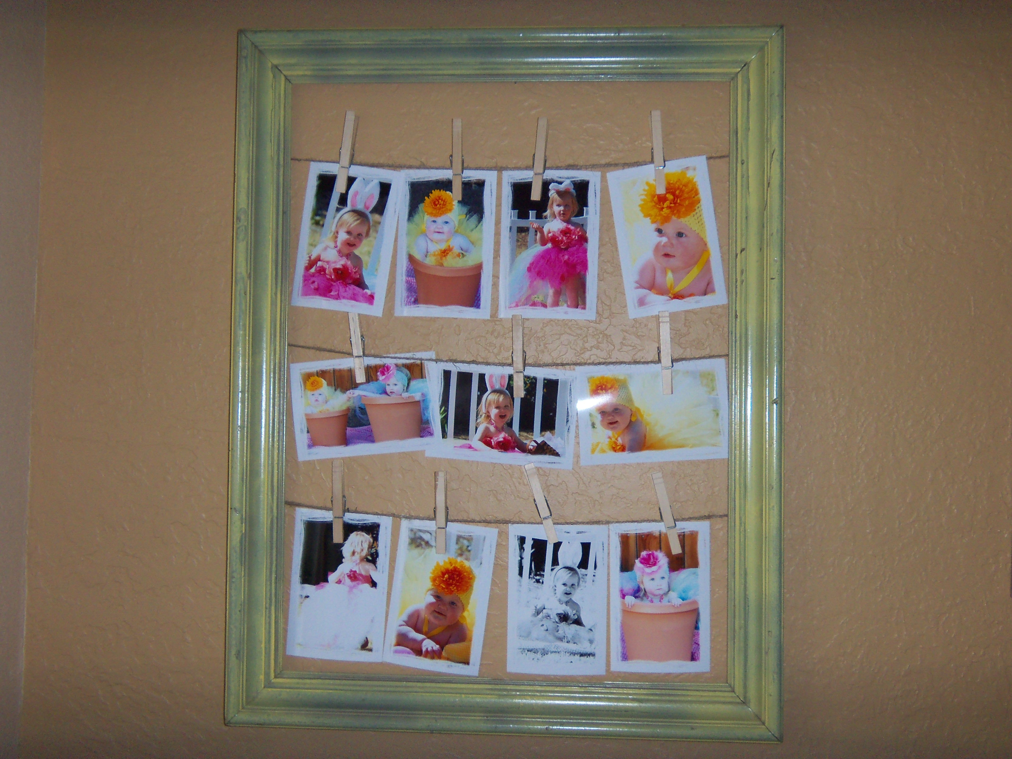 We made the whole family these for easter gifts i bought old we made the whole family these for easter gifts i bought old picture frames from negle Image collections