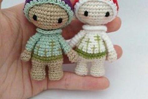 Häkelanleitungen für einzigartige gehäkelte Puppen von lalylala | 317x474