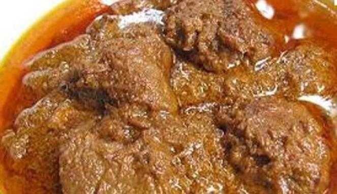 Resep Rendang Daging Sapi Khas Padang Resep Makanan Indonesia Makanan