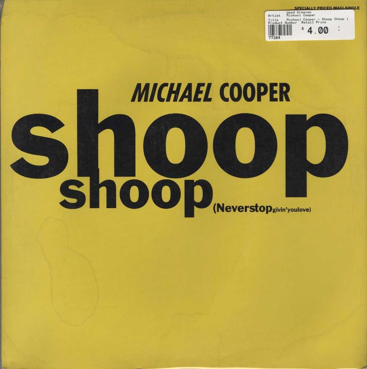 Michael Cooper - Shoop Shoop (Never Stop Givin' You Love)