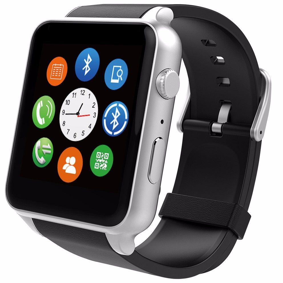 Wasserdicht Smart Watch Armbanduhr Puls Gesundheit Fitness Messen Mit Sim Karte Kamera Sport Uhr Smartwatch Fur Android Ios Smartwatch Bluetooth Speicherkarte