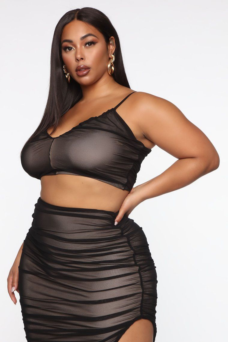 New York Nights Mesh Skirt Set Black Combo In 2020 Mesh Skirt New York Night Skirts