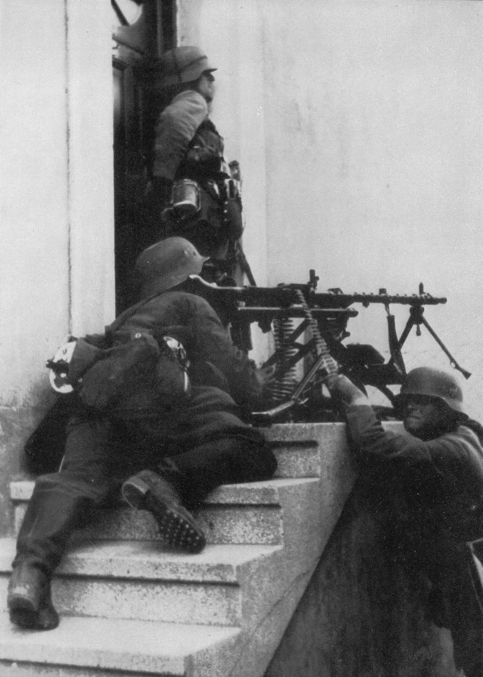 Mg34 street fight