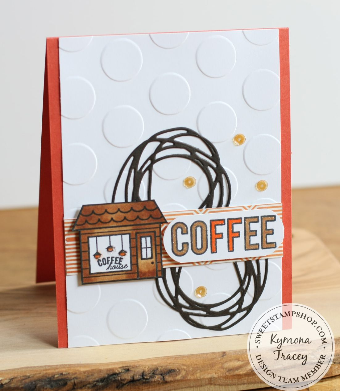 National Coffee Day was created with Sweet Stamp Shop