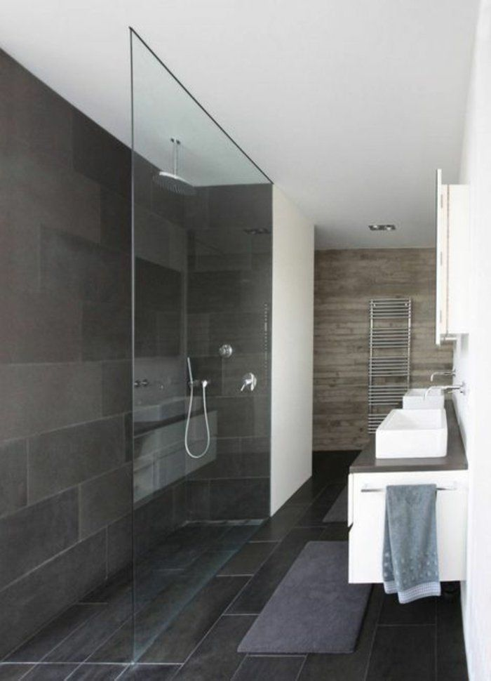 """Bad inspiration  Inspiration für Ihre begehbare Dusche – """"Walk-In""""-Style im Bad ..."""