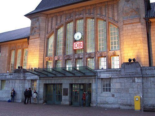 Darmstadt Rewe Bahnhof