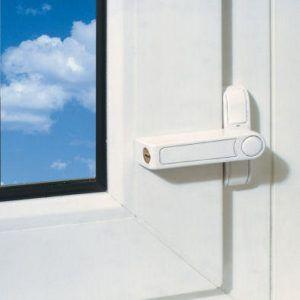 Fenster zusatzschloss zur absicherung von fenstern gegen for Fenster sichern gegen aufhebeln
