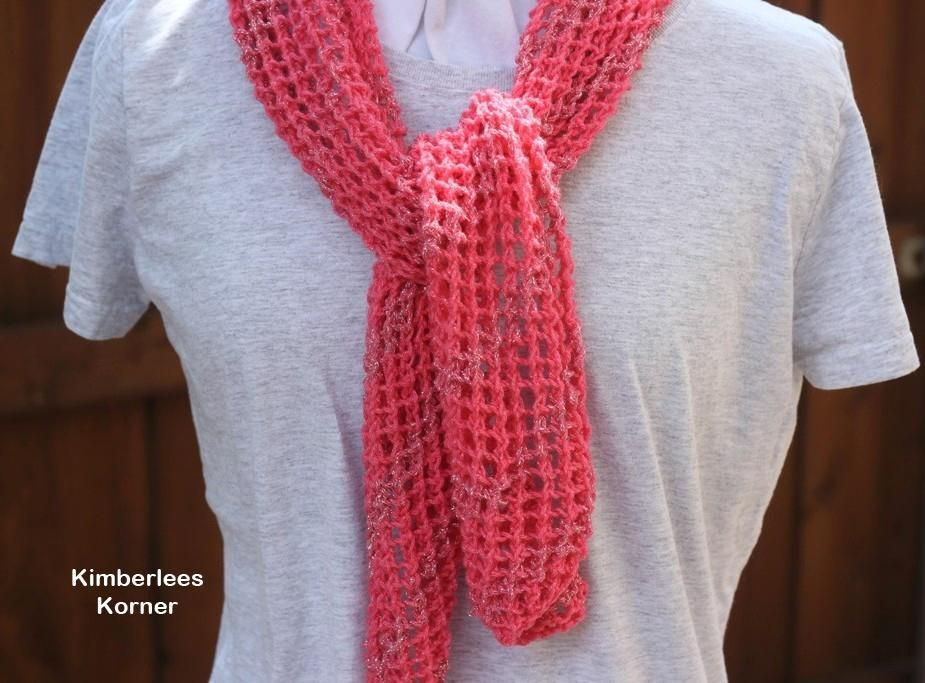 6 Name Knitting Diagonal Lace Scarf Crochet And Knit Patterns