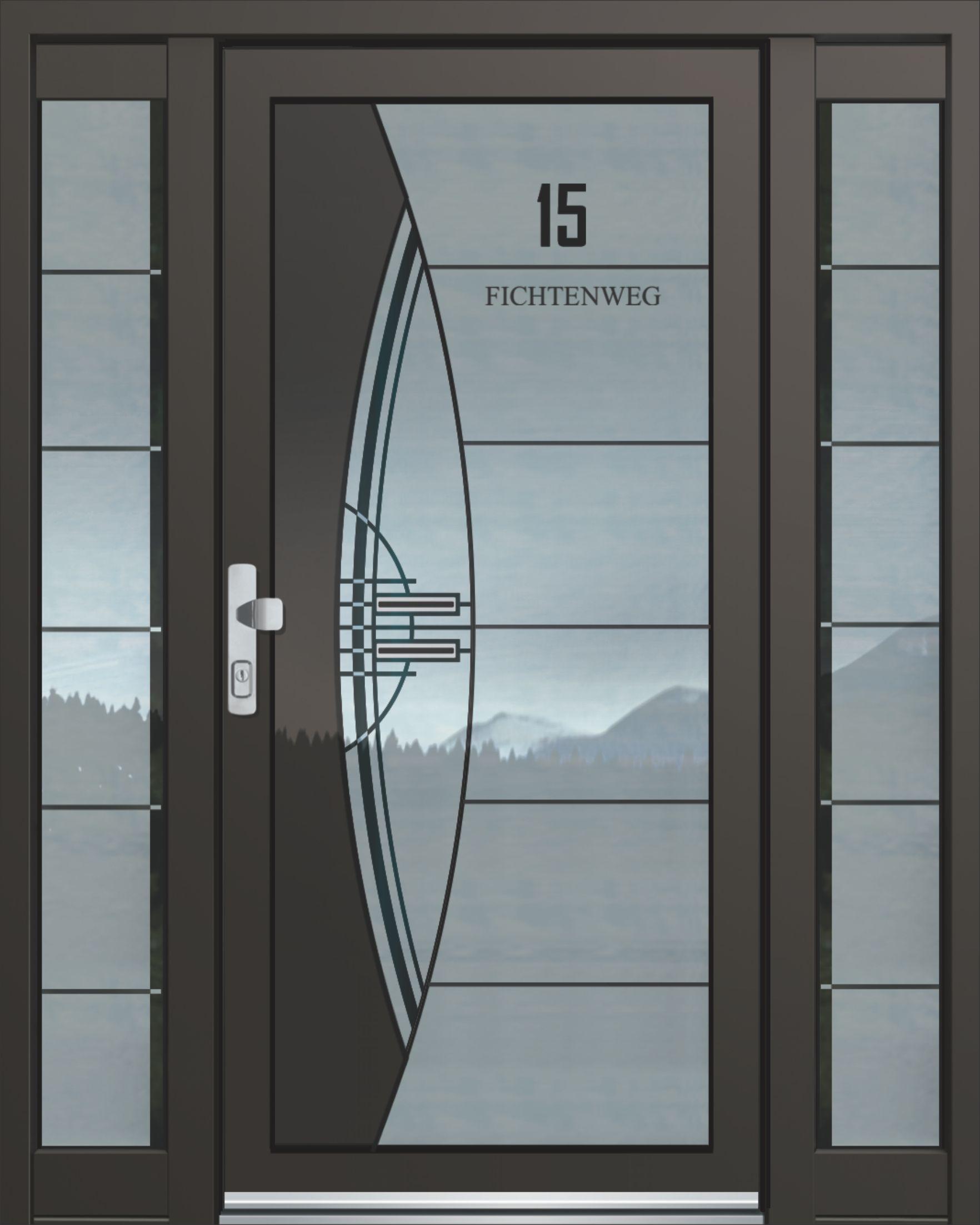 Inotherm Haustür Modell ASS 1842 Tür Mit Viel Glas Preis Auf Anfrage Bei  Www.1001