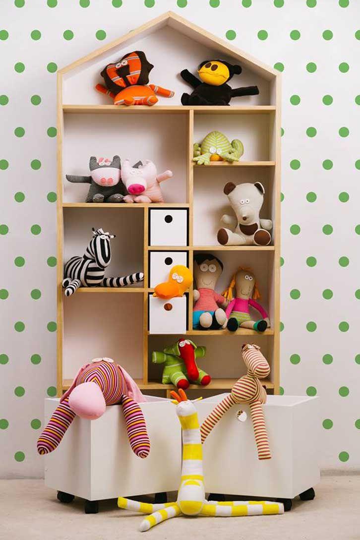 Muebles de diseño para niños con toques divertidos  어린이 가구, 책 및 가구
