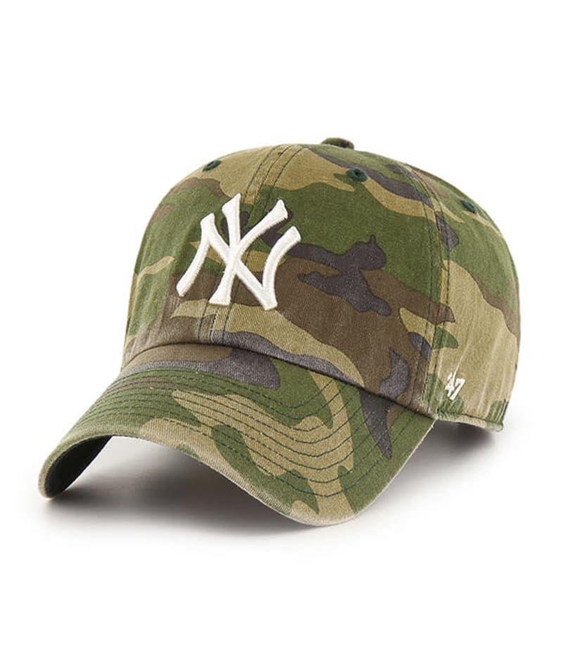 New York Yankees 47 Brand Camo Cargo Clean Up Adjustable Hat Detroit Game Gear In 2021 New York Yankees Adjustable Hat 47 Brand