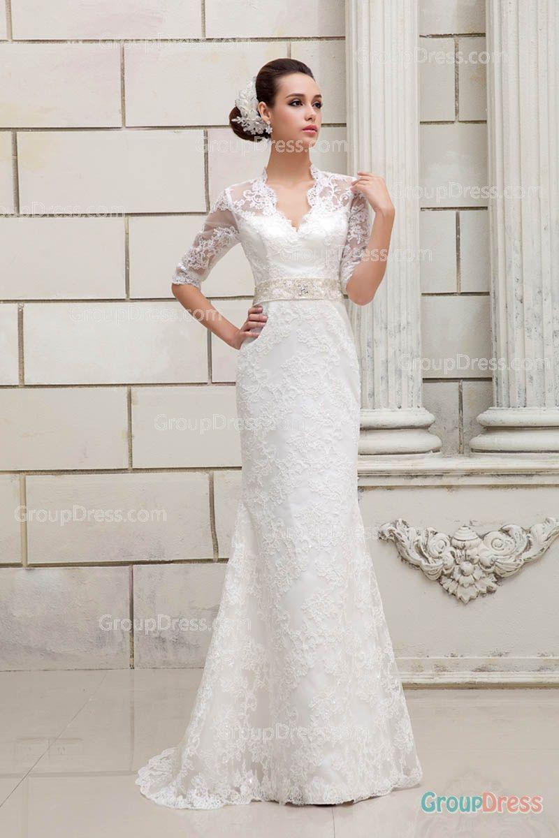 20+ Three Quarter Sleeve Wedding Dress - Women\'s Dresses for ...