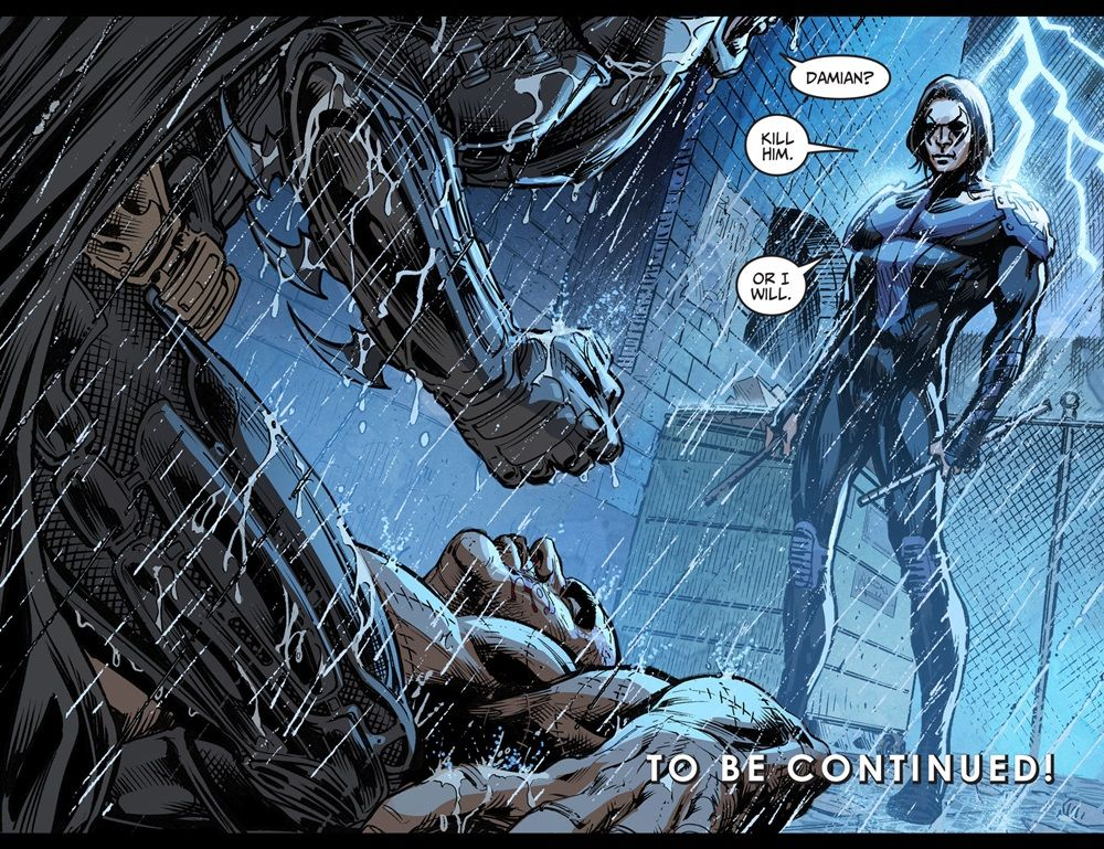 Injustice Gods Among Us Year 5 Five 024 2016 View Comic Damian Wayne Batman Robin Batman