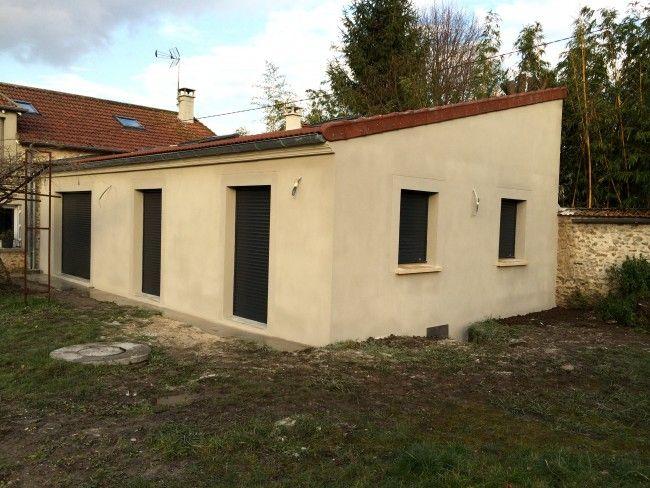 Surface de l\u0027agrandissement de la maison  65 mètres carrés