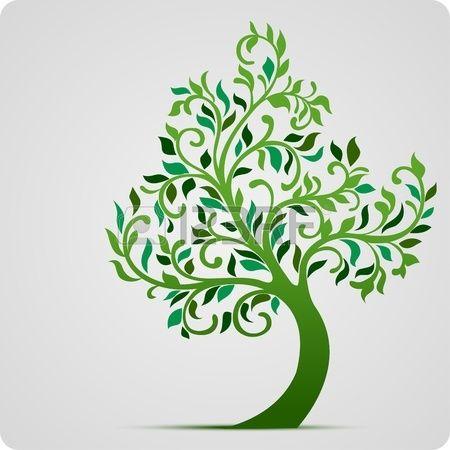 Stock photo ulivo tree icon tree illustration e tree for Albero ulivo vettoriale