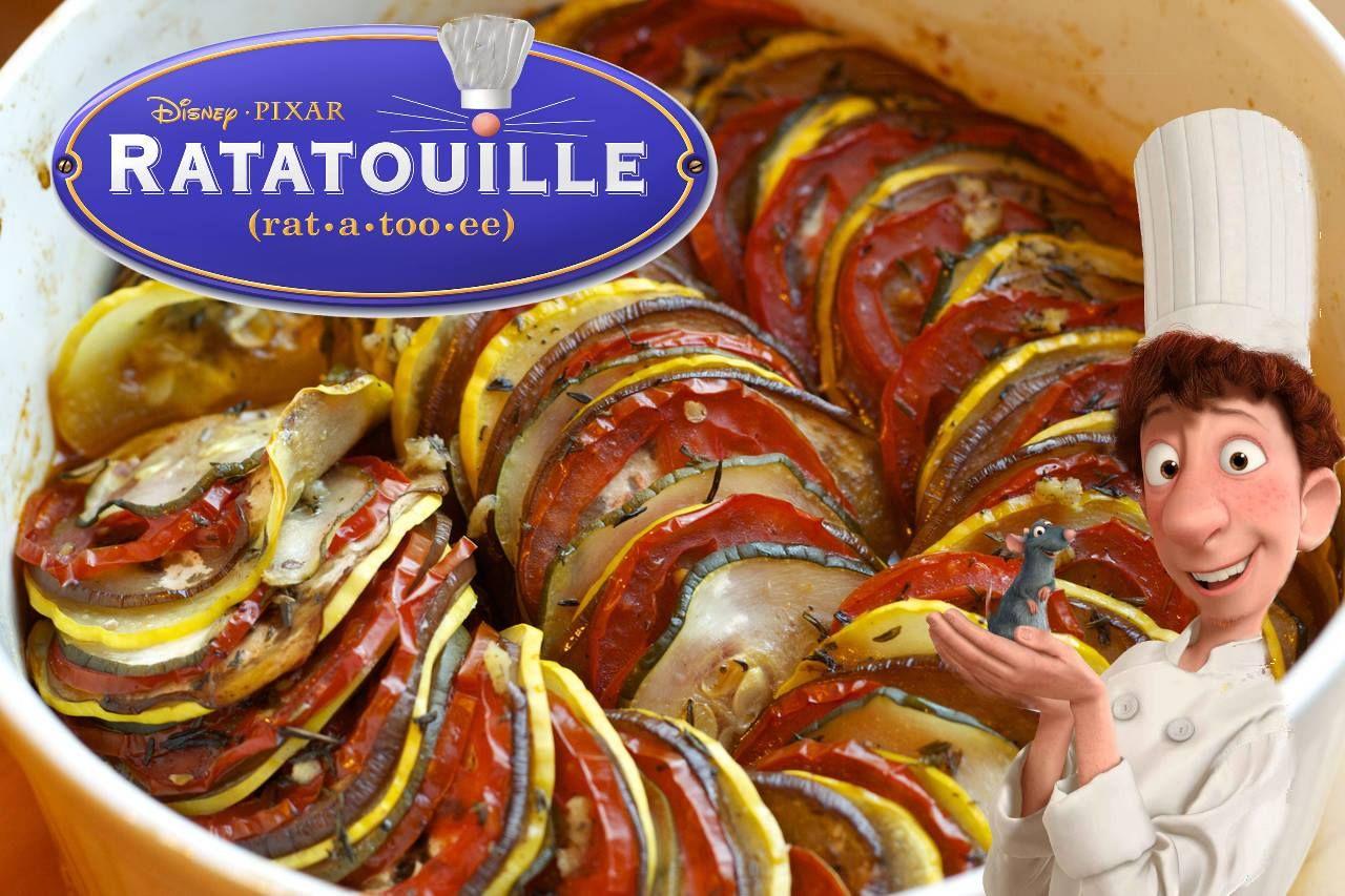 Movie inspired foods ratatouille food inspiration food
