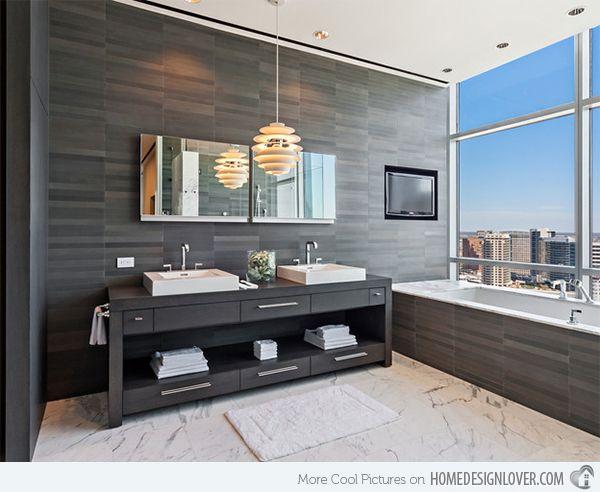 15 Modern Double Sink Bathroom Vanity Sets Fox Home Design Luxury Master Bathrooms Modern Bathroom Modern Bathroom Design