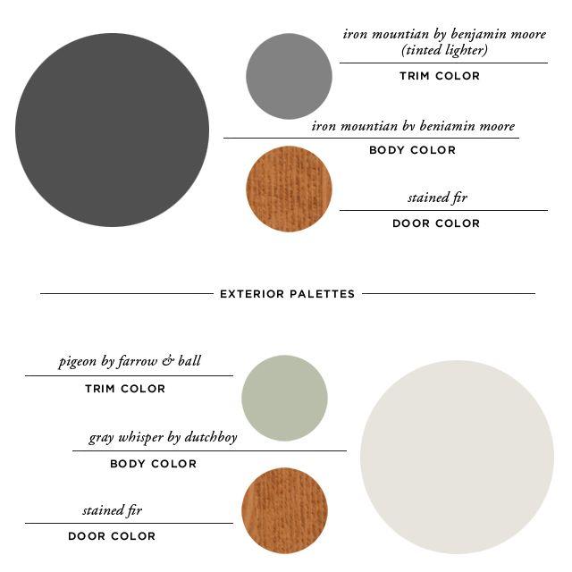 exterior paint palettes smitten studio Paint Colors