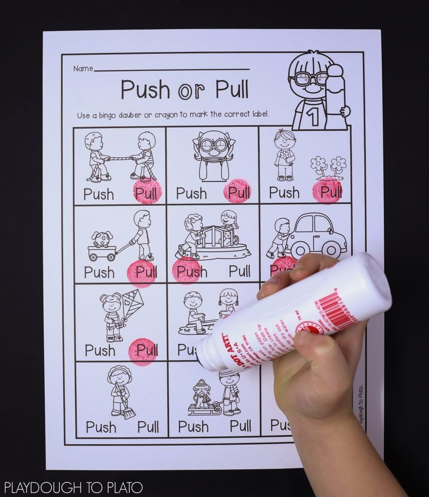 Force And Motion Activity Pack Playdough To Plato Force And Motion Motion Activities Kindergarten Science [ 1024 x 883 Pixel ]