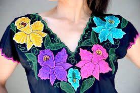 Resultado de imagen de bordados mexicanos