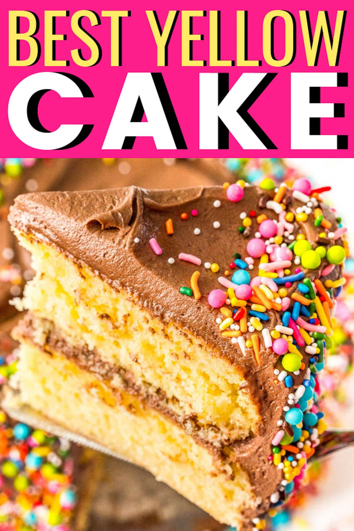 Best Yellow Cake Recipe Yellow Cake Recipe Yellow Cake Recipe Buttermilk Cake Recipes