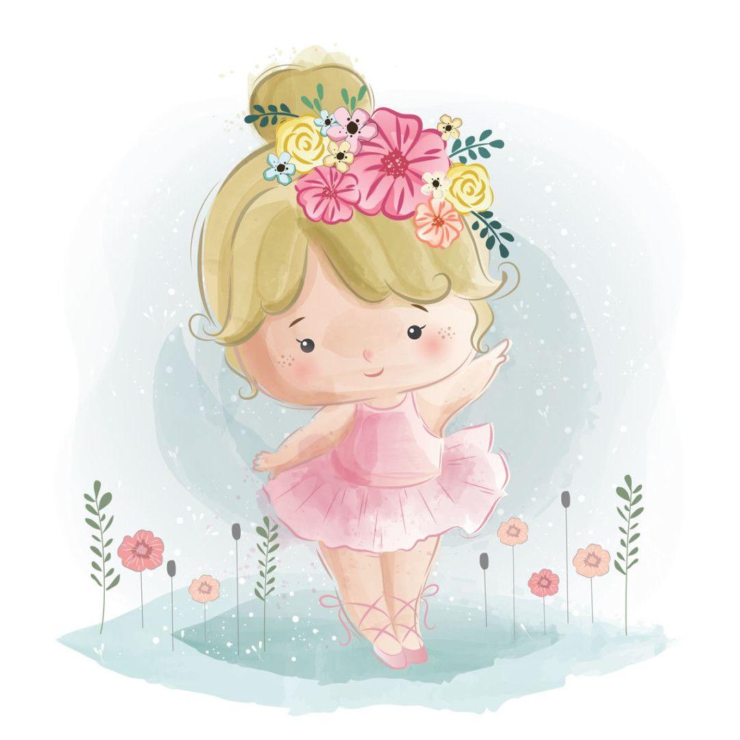 Poesia Infatil Bailaba La Nina Alegre Bosque De Fantasias Ninos Alegres Bailarina Bebe Bailarina Pequena