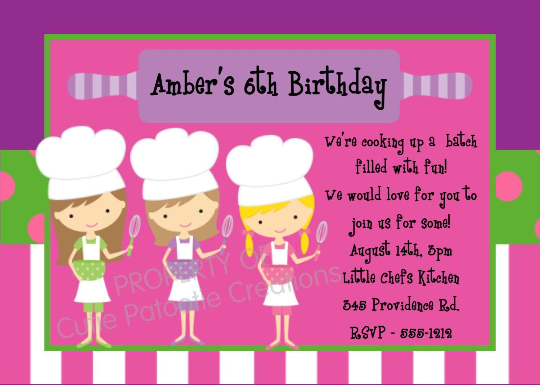 Print Birthday Invitations For