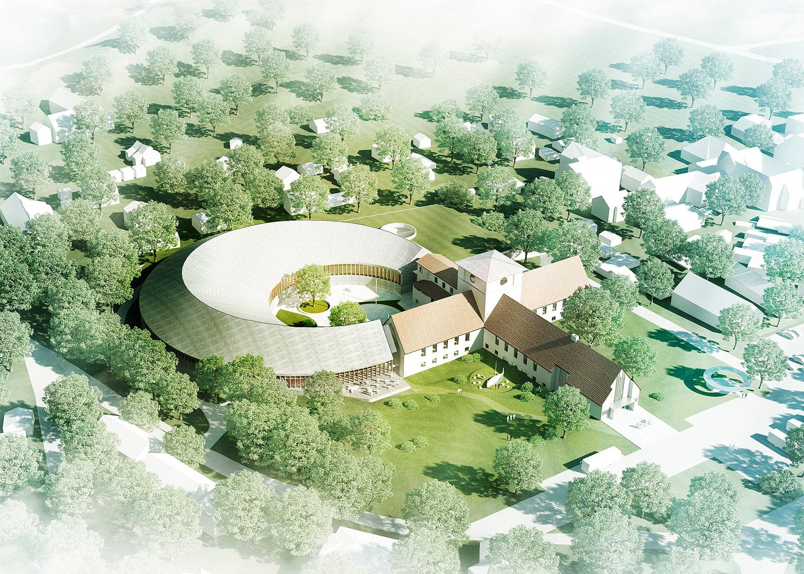 Nordic Firm Aart Has Won A Competition To Extend The Viking Age Museum Building In Oslo With Plans To Add A N With Images Viking Museum Cultural Architecture Architecture