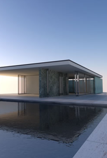 Private House With Lap Pool Rendering By Supodium Sketchup