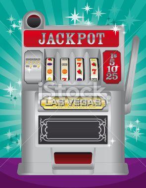 Slot machine Royalty Free Stock Vector Art Illustration