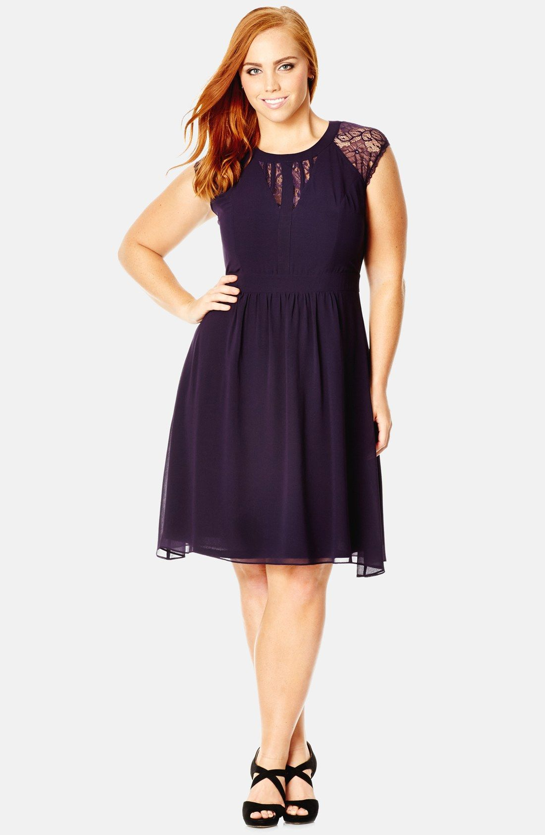 A-Line Plus-Size Cocktail Dresses Party Dresses | Nordstrom ...