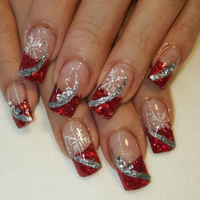 Holiday Nails Hours: Pin By Michele Van Nortwick On Christmas Nail Art In 2019