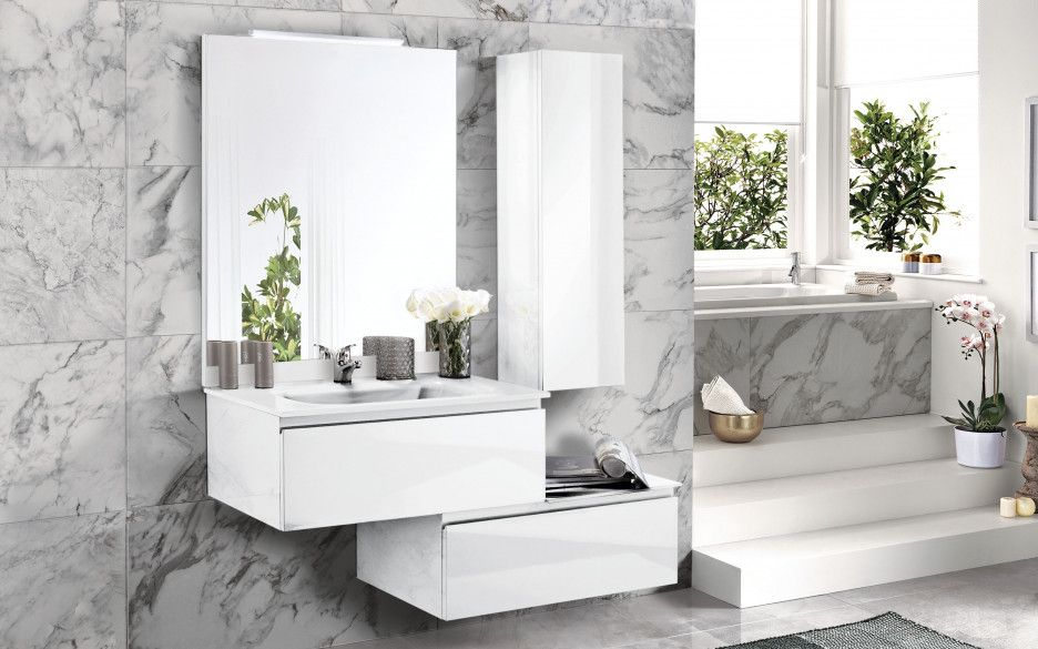 Elegant Componibile bagno D9TU 01 Bagno