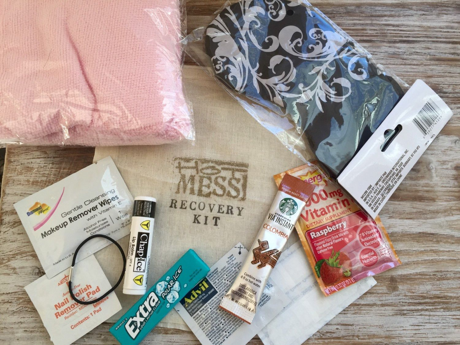 DELUXE Complete Bachelorette party recovery kit, complete hangover ...