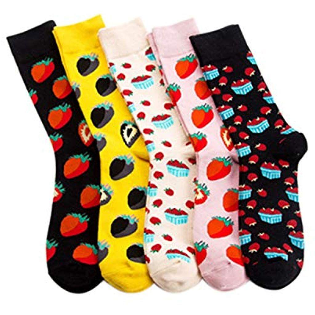 Herren 3D Bild Drucken Baumwolle Lange Socken Lustige Funny Sock