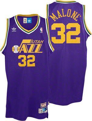 size 40 6b12c 66201 NEED! Karl Malone Jersey: adidas Purple Throwback Swingman ...