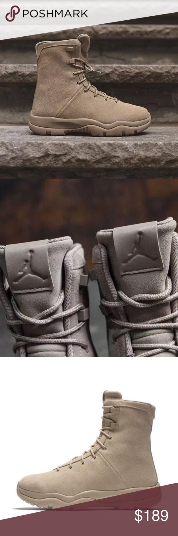 856b3c68ee9 Nike Air Jordan Future Boot EP Khaki Suede Tan Brand New without Box ...