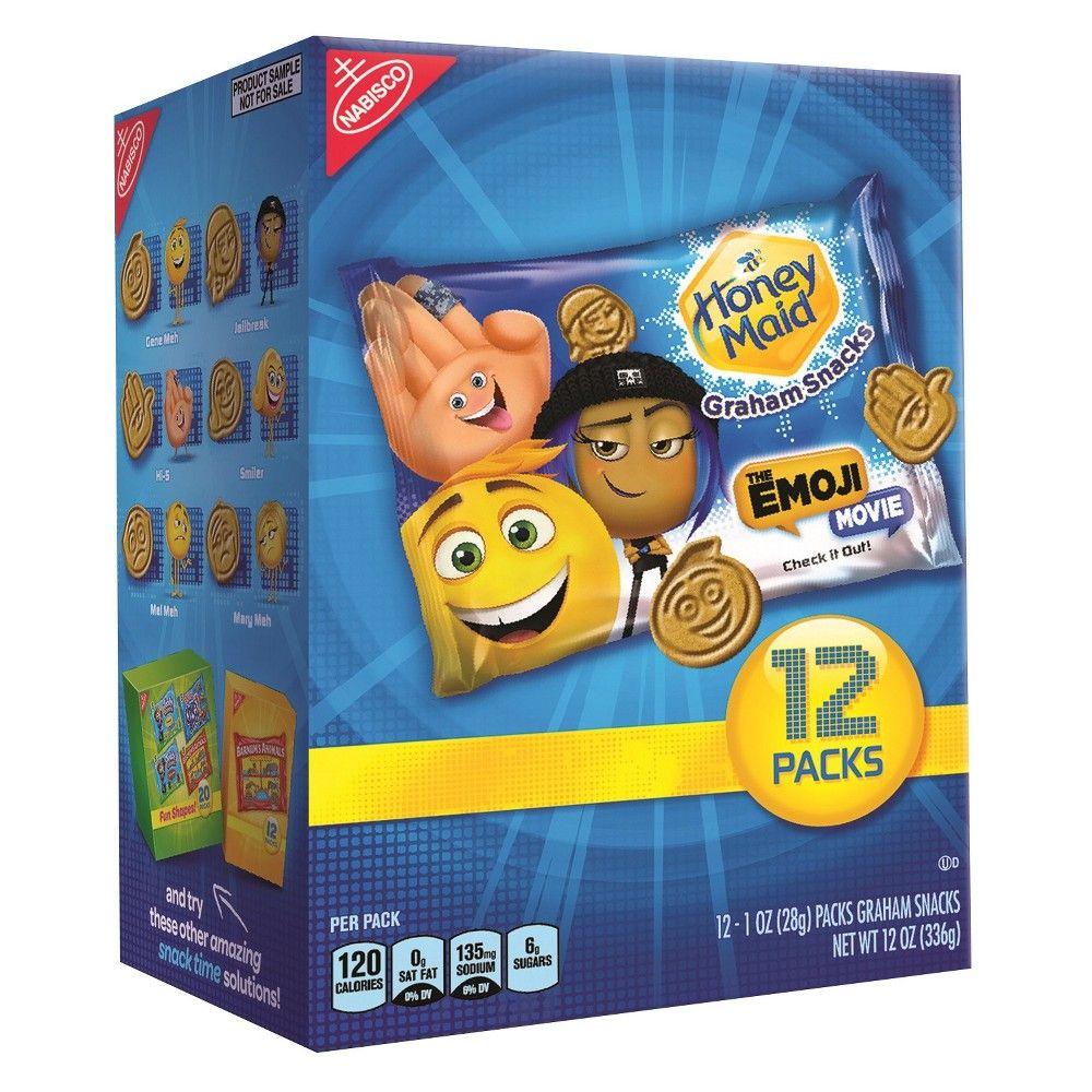 Honey Maid Graham Snacks The Emoji Movie