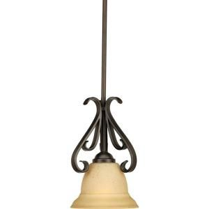 Progress lighting torino collection 1 light forged bronze mini pendants to coordinate with existing lighting aloadofball Image collections