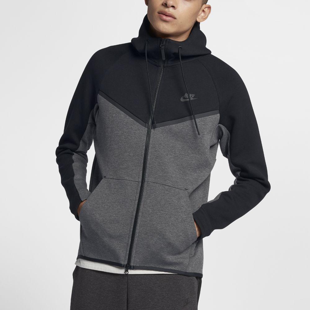 Nike Sportswear Tech Fleece Windrunner Men S Full Zip Hoodie Size Medium Black Nike Tech Fleece Hoodie Sportswear Sport Outfit Men [ 1000 x 1000 Pixel ]