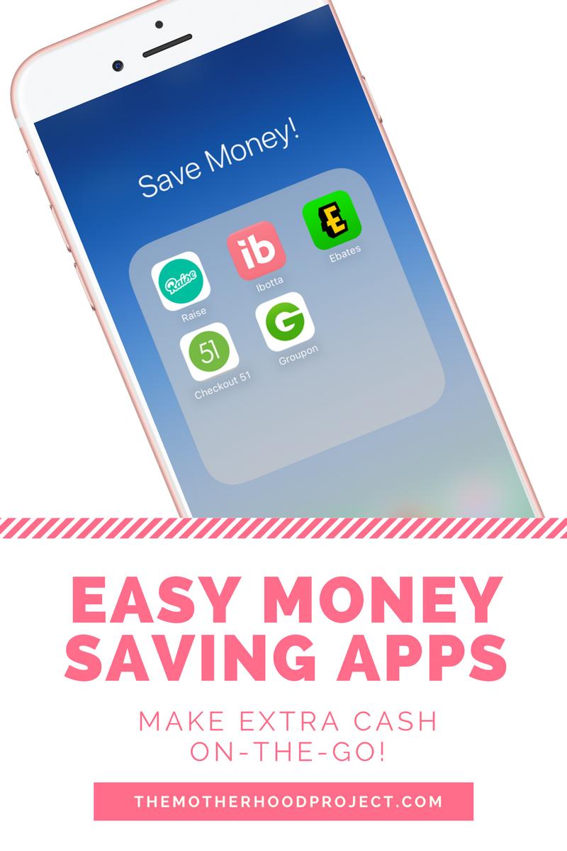 Top five money saving apps to make extra cash Money