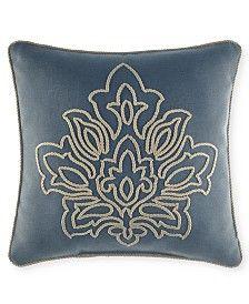 Croscill Captain S Quarters 16 Square Decorative Pillow Throw Pillow Styling Pillows Decorative Patterns Decorative Pillows