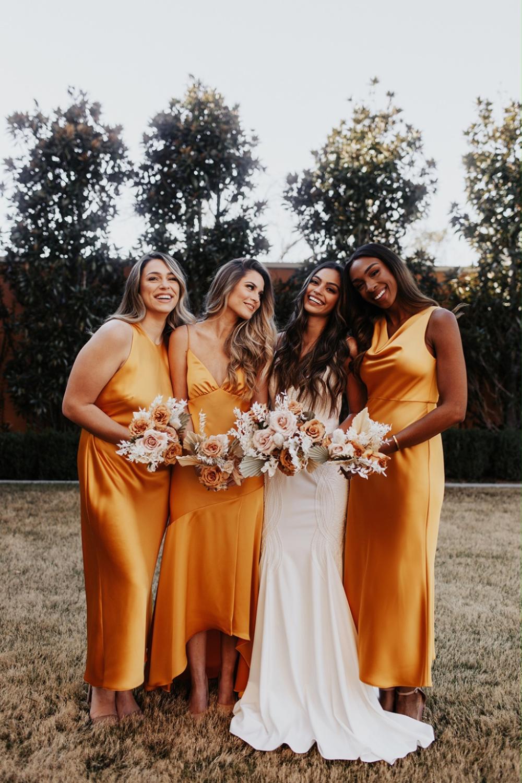 Bridesmaid Dresses Around 200 Orange Bridesmaid Dresses Mismatched Bridesmaid Dresses Alternative Bridesmaid Dresses [ 1500 x 1000 Pixel ]