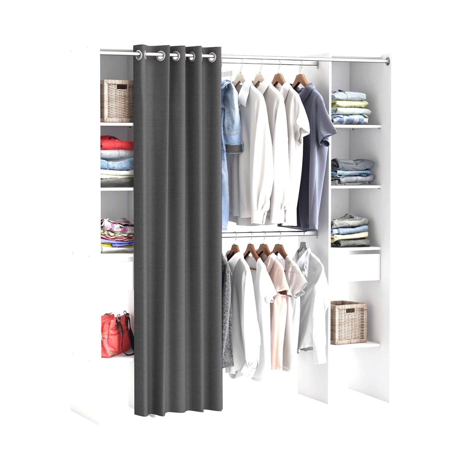 Dressing Spaceo Home Gris Dressing Leroy Merlin Home Dressing Walk In Closet