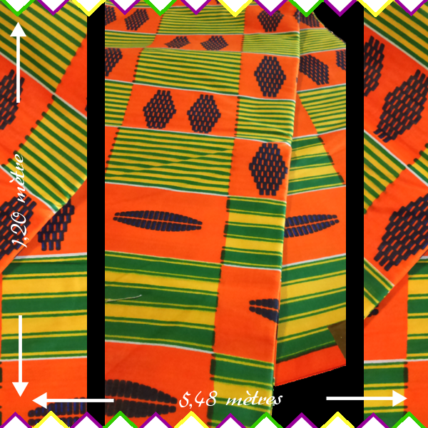 Rouleau Pagne Wax Africain Tres Joli Tissu Wax De Qualite Tissu Wax Rouleaux Africaine